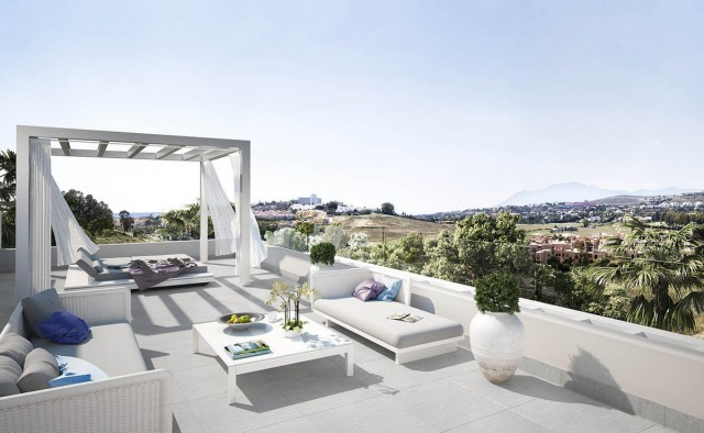 New Quality Penthouse for Sale in Atalaya, Estepona