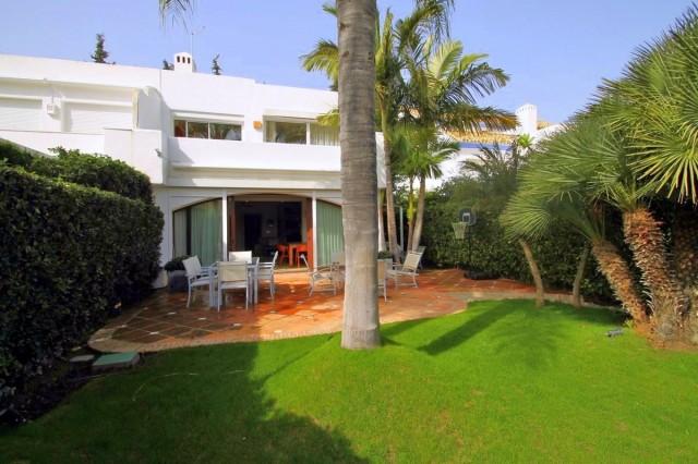 Elegant Townhouse for Sale in Guadalmina Baja, Marbella