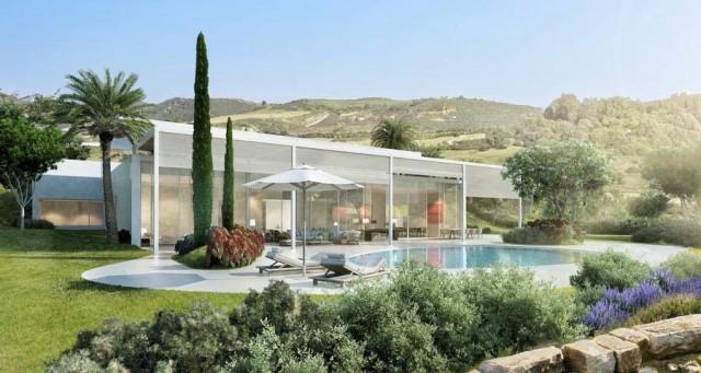 Contemporary Villa for Sale in Casares, Costa del Sol