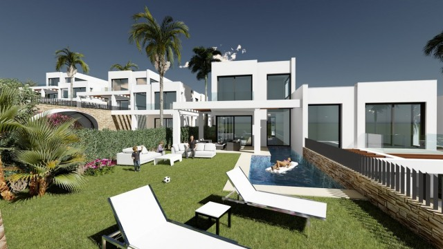 Frontline Golf Townhouse for Sale Cabopino, Marbella