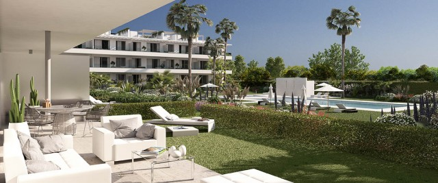 Garden Apartment for Sale in New Golden Mile, Estepona