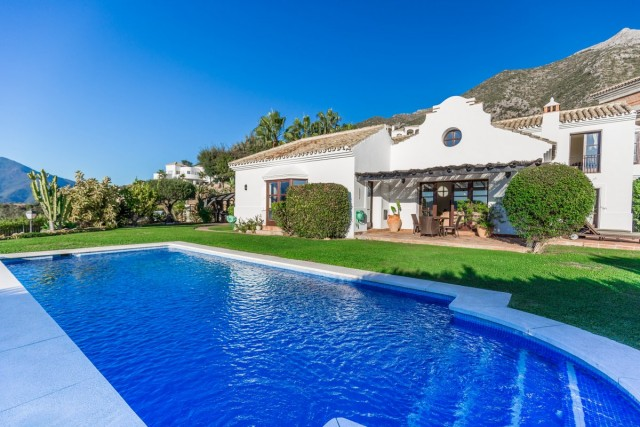 Wonderful Villa for Sale in Sierra Blanca, Marbella