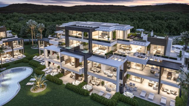 Contemporary Penthouse for Sale in New Golden Mile, Estepona