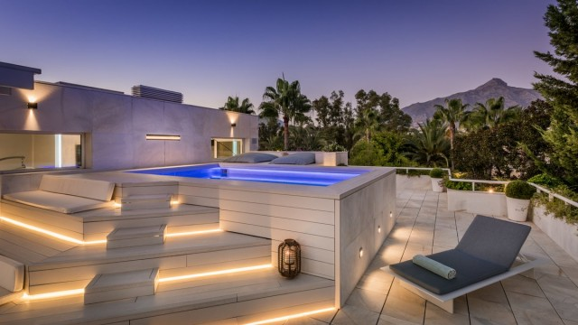 Modern Penthouse for Sale in Nueva Andalucia, Marbella
