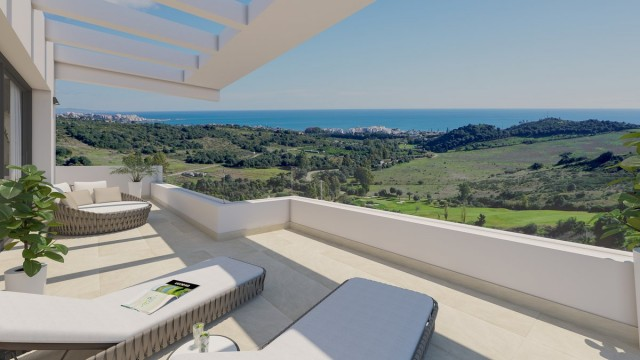 Modern Penthouse in Estepona Golf, Costa del Sol