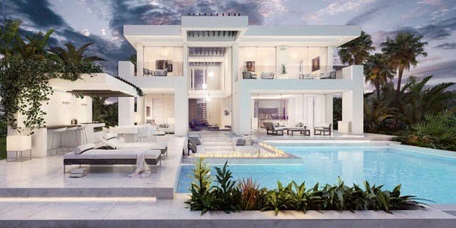 Contemporary Villa for Sale in Riviera del Sol, Mijas Costa