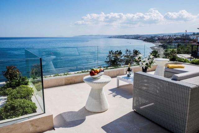 Frontline Beach Penthouse for Sale in Estepona, Costa del Sol