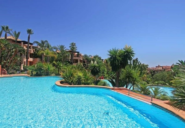 Quality Garden Apartment for Sale in Golden Mile, Marbella