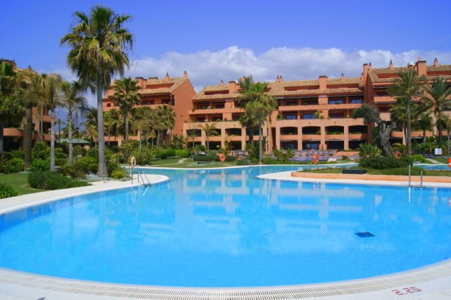 Garden Apartment for Sale in Puerto Banus, Marbella