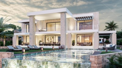 777225 - Detached Villa For sale in Golden Mile, Marbella, Málaga, Spain