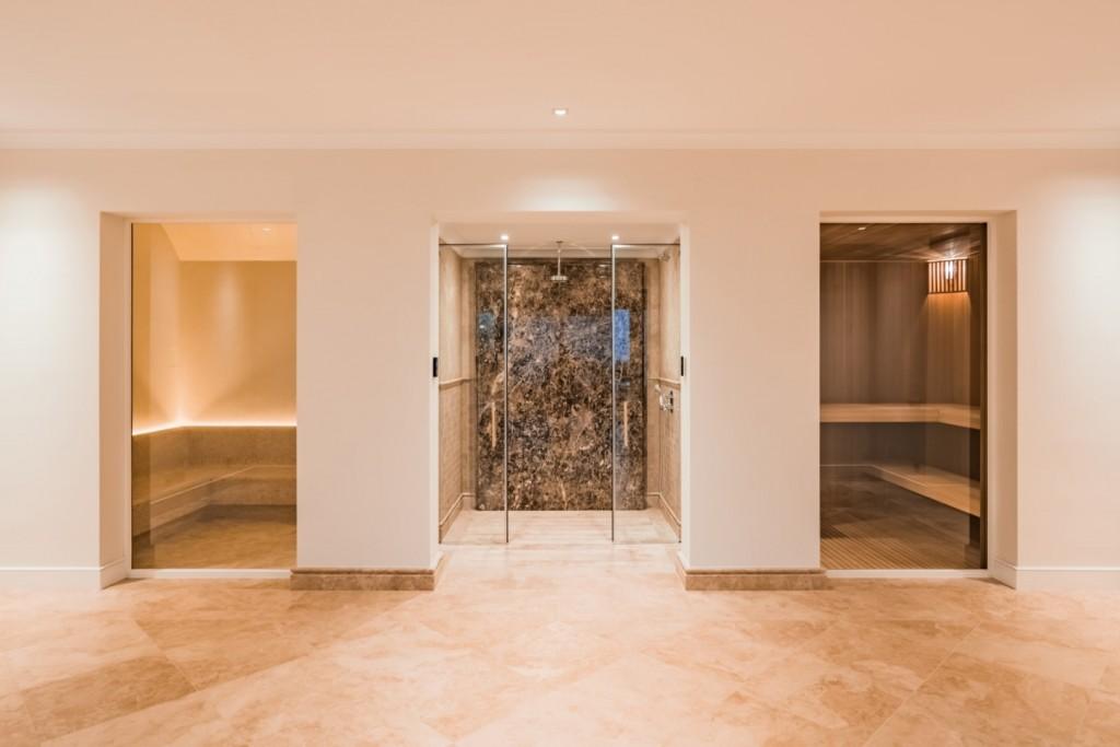 Sauna - turkish bath