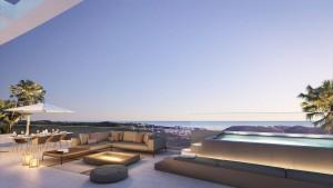 Penthouse Sprzedaż Nieruchomości w Hiszpanii in La Cala de Mijas, Mijas, Málaga, Hiszpania