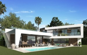 Detached Villa for sale in Guadalmina Baja, Marbella, Málaga, Spain