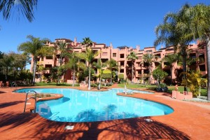 Perfect  three bedroom beachside penthouse in Marbella