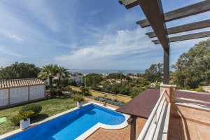 Spectacular beachside Villa within walking distance to the beach and all amenities in Elviria, East Marbella