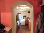 arch to kitchen