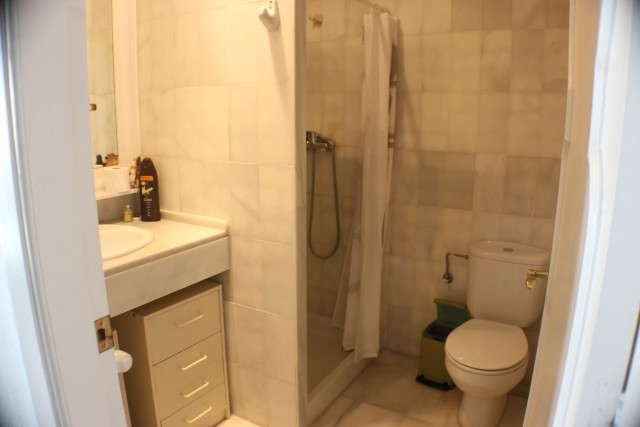 apartment 1 shower room