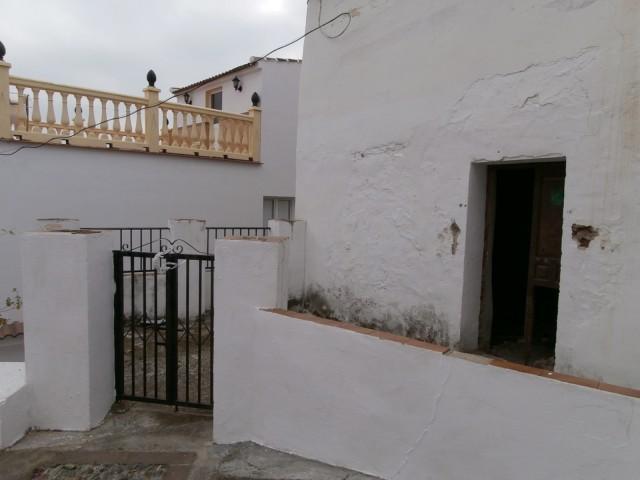 front door and terrace