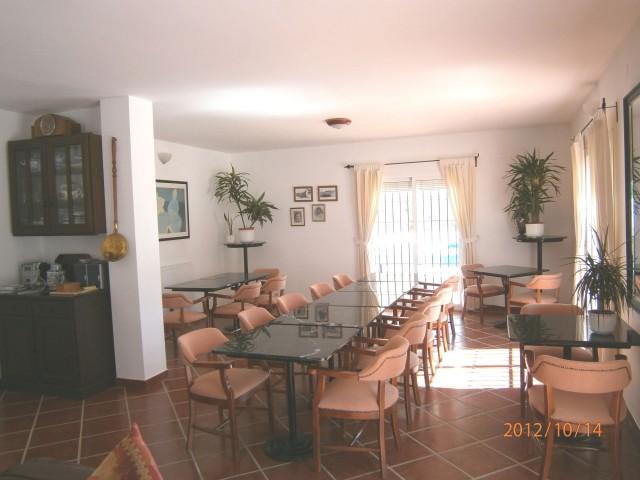 reception / dining area