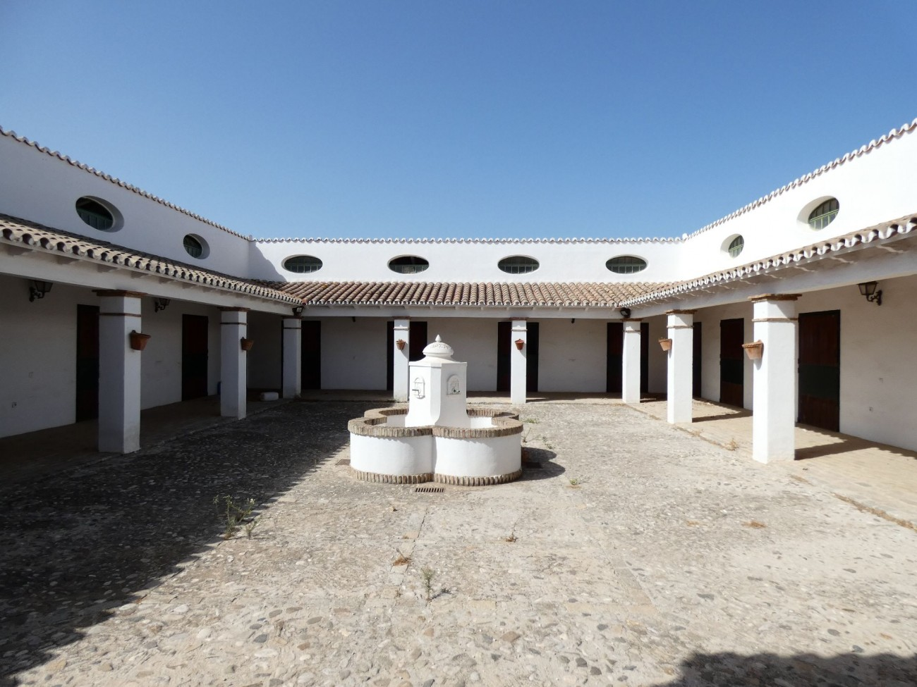 stable courtyard