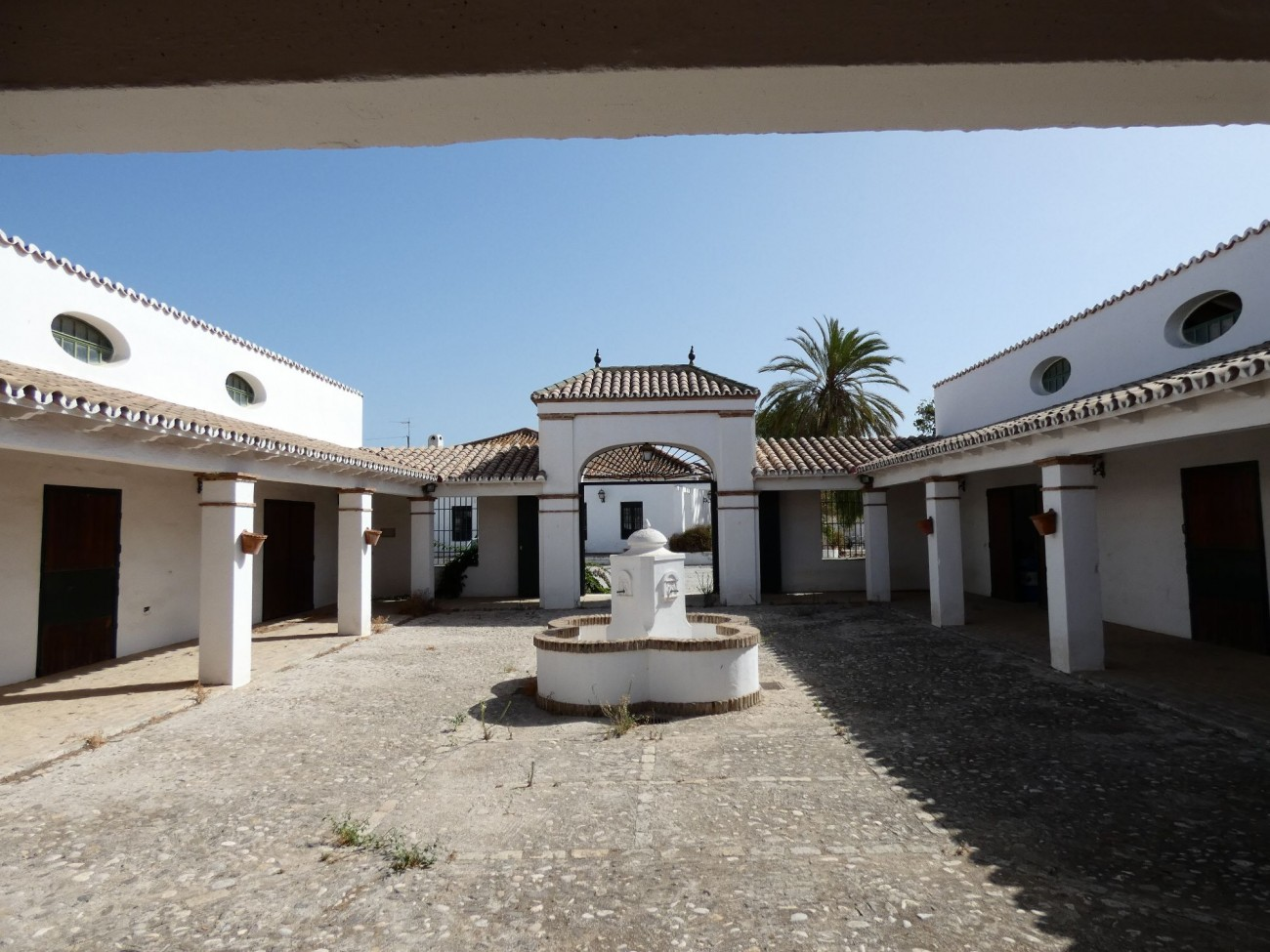 stables courtyard