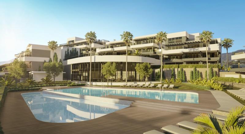 MD602_11 Pool Apartments Estepona