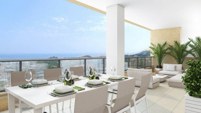 NEW OFF PLAN PROJECT CONTEMPORARY APARTMENTS WITH SEA VIEWS, BENALMADENA , MIJAS COSTA