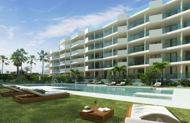 NEW APARTMENTS IN CONSTRUCTION FUENGIROLA TOWN CENTER, MIJAS COSTA