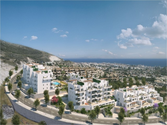MODERN APARTMENTS IN CONSTRUCTION WITH SEA VIEWS IN BENALMADENA FROM 208.000€