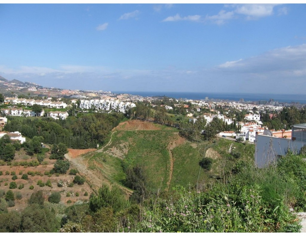 Ref:AM1438 Building Plot For Sale in Mijas Costa