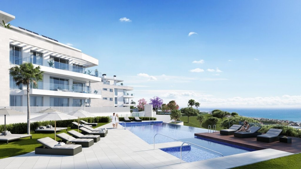 Ref:AM2149 Atico - Penthouse For Sale in Mijas Costa