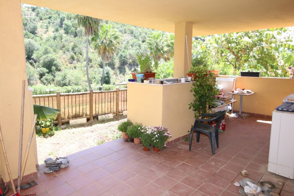 Ref:AM2470 Garden Apartment For Sale in Marbella