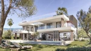 Villa for sale in New Golden Mile, Estepona, Málaga, Spain