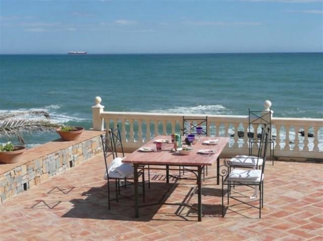 dining with sea views