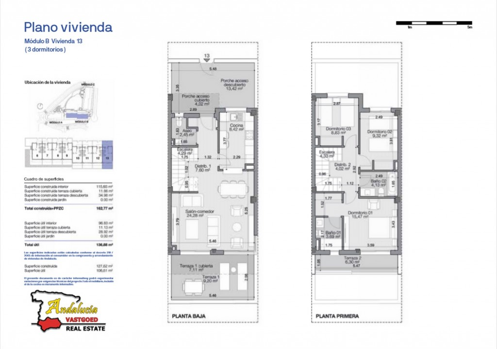 8. Plan House type A - 3 bedrooms (Copiar)