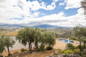 Rural property with pool and amazing view
