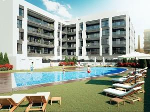 New apartment development, Torre del Mar, Malaga, DPN2630