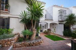 Spacious townhouse in sought after location within easy walk of Nerja town centre and beach.