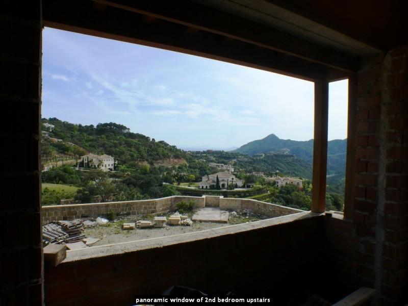 panoramic window of 2nd bedroom upstairs