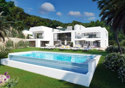 Villa zu verkaufen in La Mairena, Marbella, Málaga, Spanien