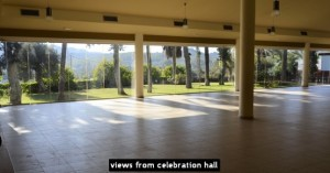 views from celebration hall