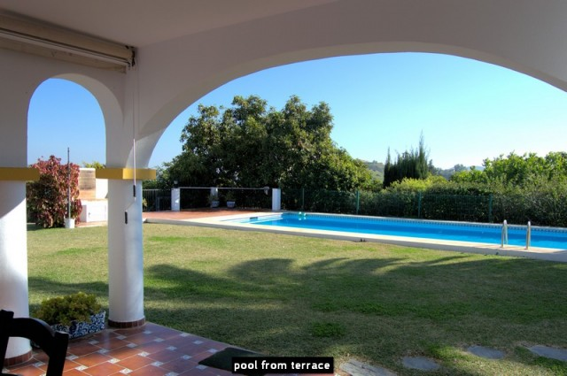 pool from terrace