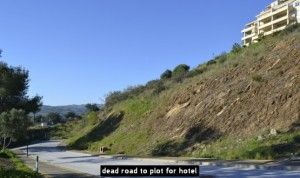 dead road to plot for hotel