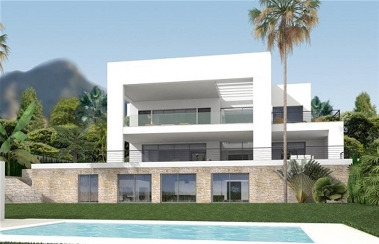 D5431 Contemporary style villas Golf Valley 1 (Large)