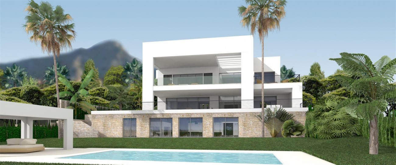 D5431 Contemporary style villas Golf Valley 2 (Large)