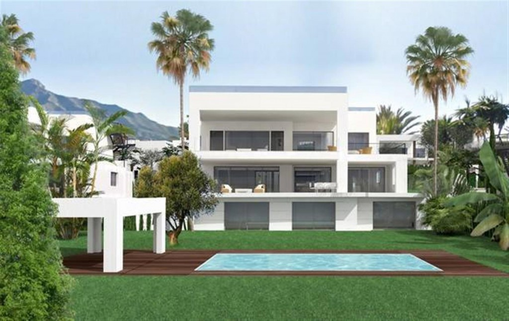 D5431 Contemporary style villas Golf Valley 7 (Large)
