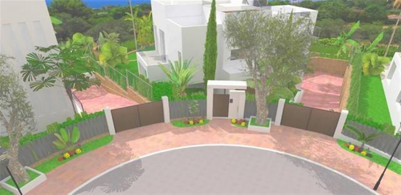 D5431 Contemporary style villas Golf Valley 9 (Large)