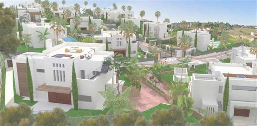 D5431 Contemporary style villas Golf Valley 10 (Large)