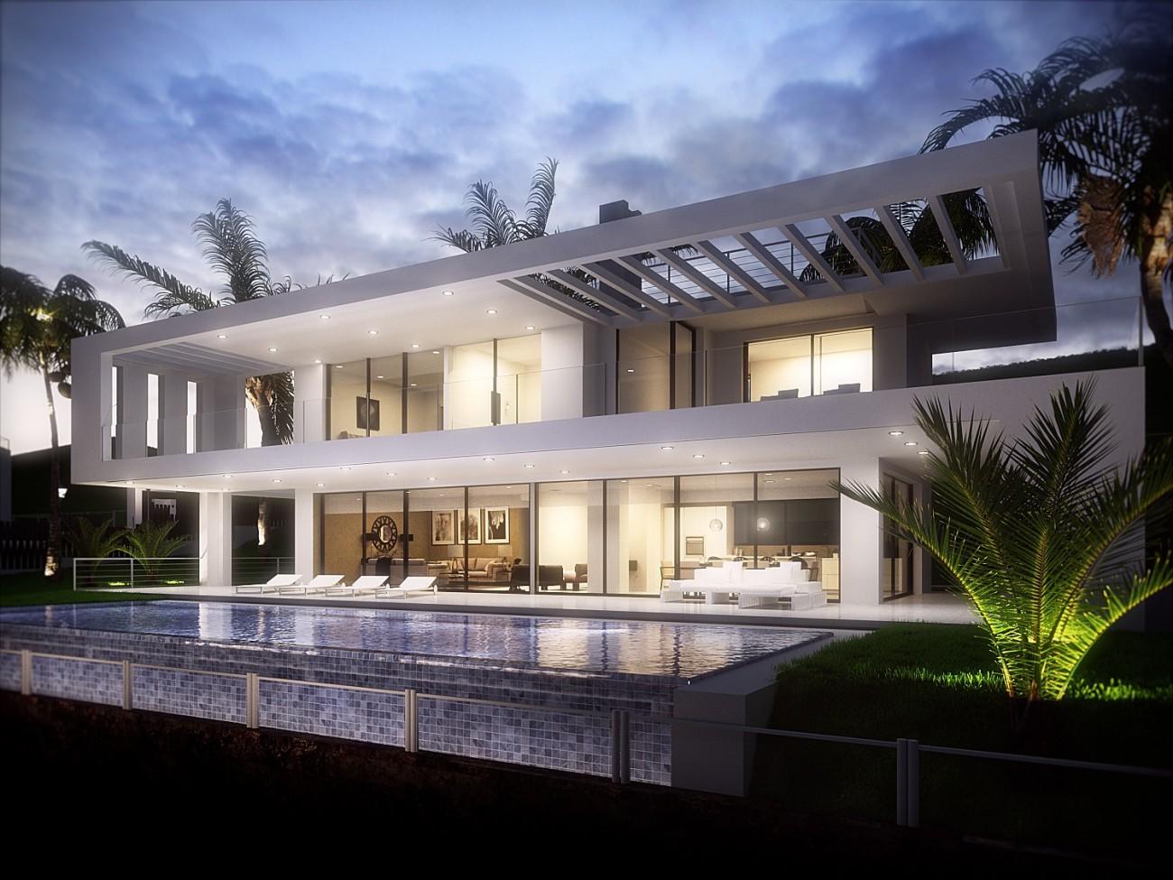 Modern Villas Nueva Andalucia Marbella (9)
