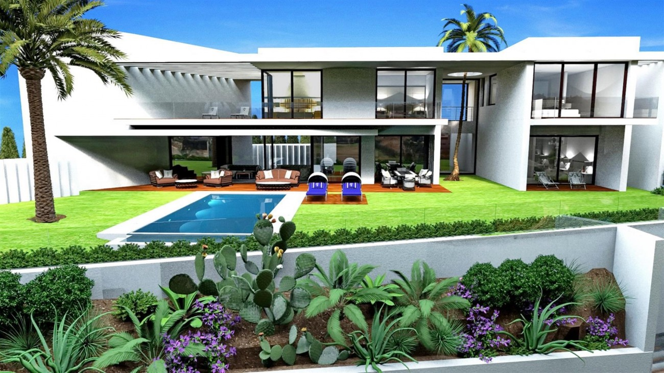 V5501 Contemporary style villa Benahavis 5 (Large)